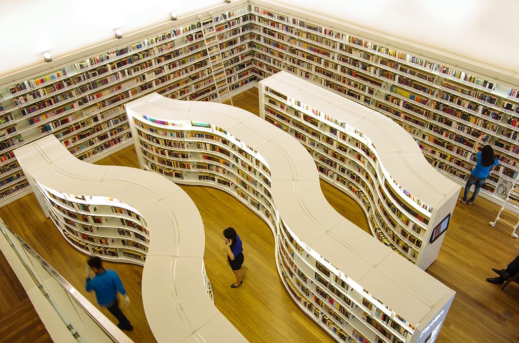 Top Beautiful Libraries in Asia