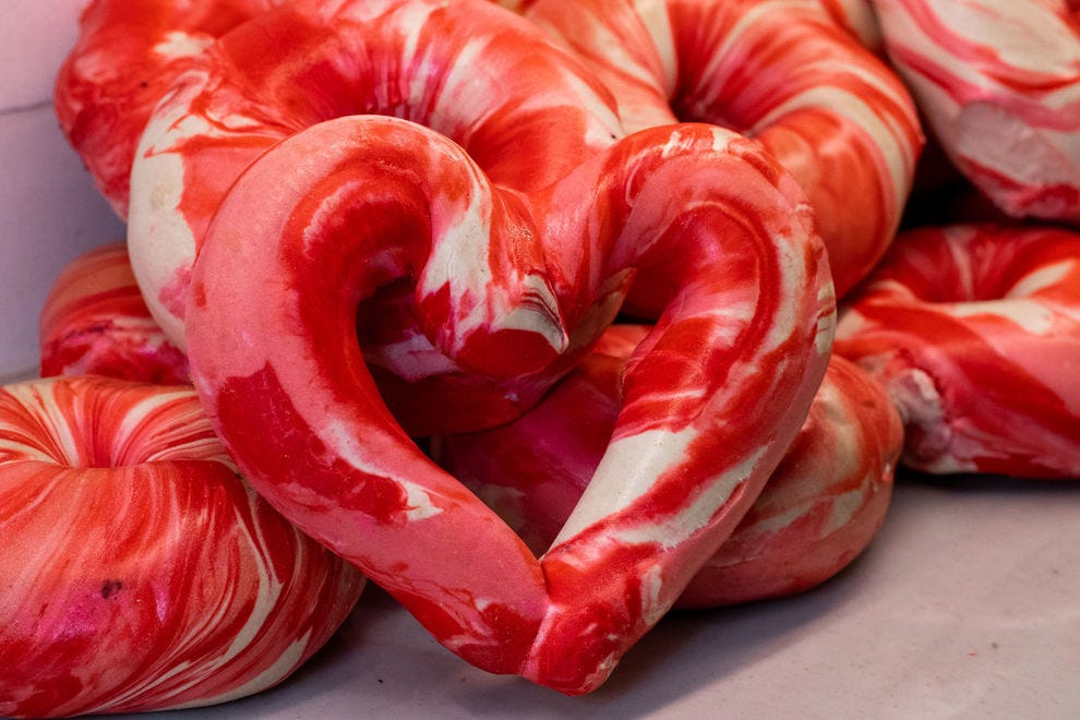 These heart shaped treats to make Valentine's Day tastier